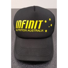 Team INFINIT Trucker Hat - Black/Yellow