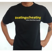 #eatingscheating Infinit Nutrition Australia T-Shirt