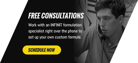 Free Consultations - Work with an INFINIT formulation specialist right over the phone to set up your own custom formula.